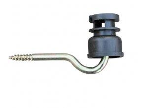 Izolátor štěrbinový pro elektrický ohradník, s vrutem