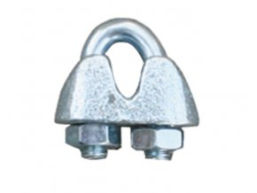 Spojka na lanko pro elektrický ohradník, pozinkovaná, pro lanko 3-6 mm