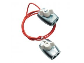 Kabel propojovací pro el. ohradník - lanko na lanko, 80 cm