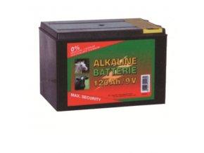 Baterie 9V, 9 V / 120 Ah