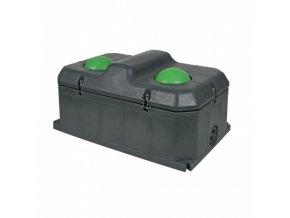 Napáječka míčová nezámrzná dvoumístná DUO, 100l, plast, pro skot a koně