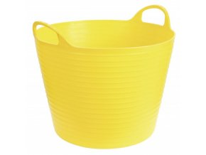 Koš, vědro flexibilní, 28 l, žluté, 28 L, žlutá
