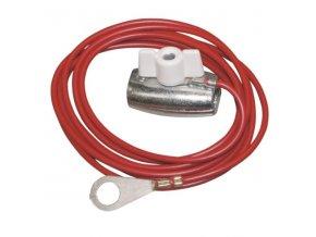 Kabel propojovací pro el. ohradníky - zdroj/lanko, 150 cm