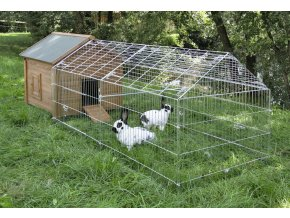 Výběh pro králíky, hlodavce a drůbež 220 x 103 x 103 cm