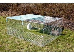 Výběh pro mláďata - králíky, morčata, jiné hlodavce a drůbež, 144 x 112 x 60 cm