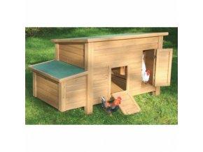 Kurník FLORENTINA dřevěný 146x74x80cm