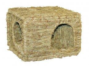 Domek pro králíky z trávy XL, 37 x 30 x 28 cm