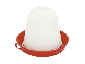 Napáječka pro drůbež plastová klobouková, 3 L