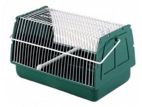 Přenosná klec pro ptáky, transportní box,  21 x 15 x 14 cm