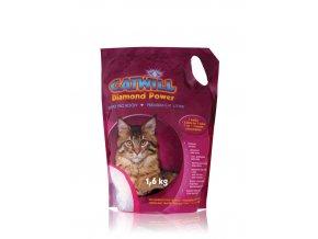 Stelivo pro kočky silikagelové Catwill 3,8 l/ 1,6 kg
