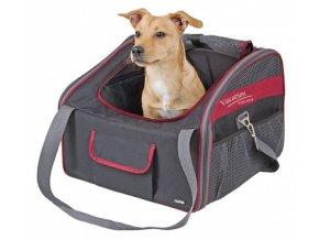 Cestovní taška pro psy Vacation na sedadlo auta 41x34x30 cm