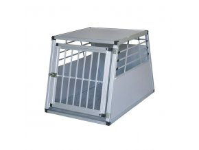 Box transportní pro psy, hliníkový, 75x55x50cm