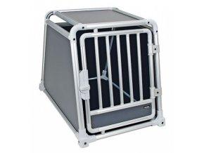Box transportní pro psy TravelProtect, hliníkový, 75x55x60 cm