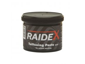 Barva tetovací RAIDEX, 600 g, černá na zvířata
