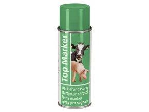 Sprej značkovací TopMarker, na zvířata, 500 ml, zelená