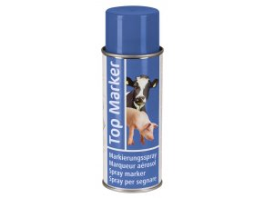 Sprej značkovací TopMarker, na zvířata, 500 ml, modrá