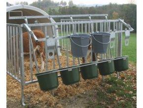 Držák 5 kbelíků na jádro