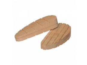 Bloček dřevěný skloněný, 130 mm