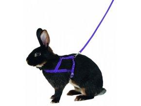 KERBL Postroj a vodítko pro králíka pro agility, 200 cm, M