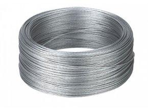 Lanko ocelové, pozinkované pro elektrický ohradník, 1,5 mm - cívka 1000 m