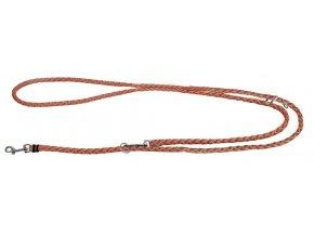 Vodítko pro psy Maxi Safe přepínací, reflexní, 200 cm, neonově oranžové
