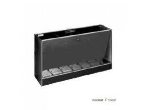Automatické krmítko Domino, samokrmítko pro prasata, 105 l / 75 kg pro 15 prasat