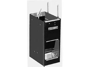 Samokrmítko Domino MIXER se zvlhčováním, pro prasata, 46 l / 32 kg pro 30 prasat