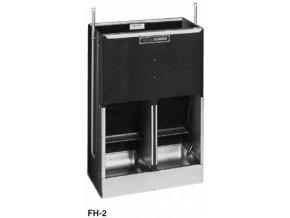 Samokrmítko Domino MIXER FH-2 se zvlhčováním, pro prasata, 70 l / 50 kg pro 24 prasat