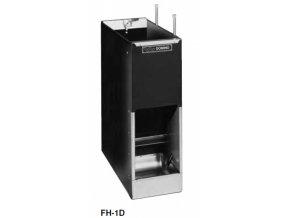 Samokrmítko Domino MIXER FH-1D se zvlhčováním, pro prasata, 70 l / 50 kg pro 24 prasat