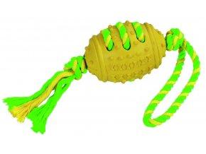 Hračka pro psy gumová - rugbe přetahovadlo, 42 cm