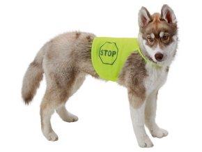Kerbl bezpečnostní reflexní vesta pro psa, vel. XL