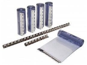Náhradní pásový závěs PVC 30 cm, délka 225 cm, předmontován