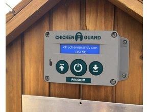 Automatické otevírání a zavírání kurníku Chickenguard Premium