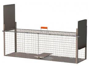 Sklopec KERBL - odchytová past na drobné hlodavce, krysy a potkany, 30 x 26 x 105 cm