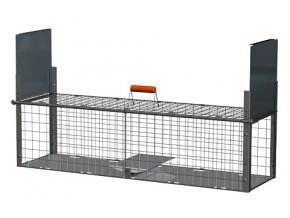 Sklopec KERBL - odchytová past na drobné hlodavce, krysy a potkany, 40 x 33 x 130 cm