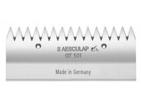 Nůž stříhací horní Aesculap Bonum, Econom, 15 zubů pro skot a koně