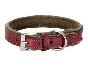 Obojek pro psy ROYAL PETS, kožený,  46 - 54 cm