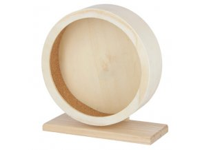 KERBL Kolotoč pro křečky a malé hlodavce dřevěný, 29 cm