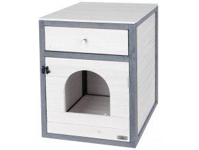 KERBL skříňka Ida - toaleta nebo pelíšek pro kočky