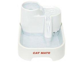 KERBL Fontána Cat Mate pro kočky a psy, 25 x 21 x 17 cm