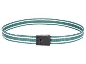 Řemen krční pro značení skotu, s plast. přezkou, zeleno-bílý, 130 cm