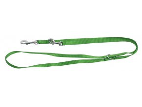 Vodítko pro psy nylonové přepínací Miami 200 cm/25 mm, zelené
