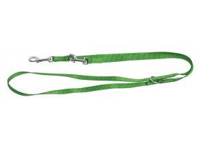 Vodítko pro psy přepínací Miami 200 cm/25 mm, zelené