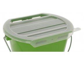 Kerbl Víko k napájecímu kbelíku pro telata, transparentní