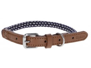 Kerbl obojek pro psy Phoenix nylonový, modrý, 30-40 cm