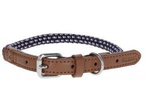 Kerbl obojek pro psy Phoenix nylonový, modrý, 40-55 cm