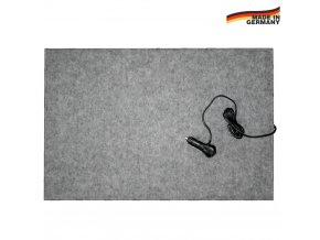 Výhřevná podložka pro psy, topný koberec 40 x 60 cm, 12 V / 20  W napájení do autozástrčky
