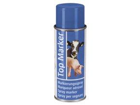 Sprej značkovací TopMarker, 400 ml, modrý