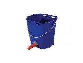 Kbelík napájecí plastový komplet, 10 l, modrý