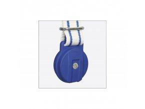 Těžítko na krční řemeny, plastové modré, 500 g